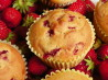 Delicious Low-Fat Strawberry Banana Muffins. Recipe by Genevieve #2