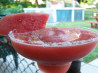 Frozen Watermelon Margaritas for a Crowd. Recipe by justcallmetoni
