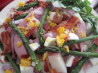 Spring Asparagus, Ham and Potato Salad - Honey Mustard Dressing