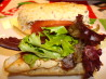 Lemon Oregano Chicken Baguette With Roast Garlic Mayonnaise