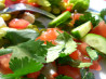 Tomato and Cucumber Salad. Recipe by simplemom