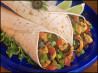 Easy Chicken Salsa Wraps (Stove Top or Crock Pot). Recipe by TemaB