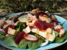 Cranberry-Turkey Spinach Salad. Recipe by Annacia