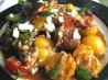 Tomato Basil Salad With Goat Cheese. Recipe by gourmetmomma