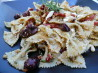 Bow Tie Pasta With Sun-Dried Tomatoes and Kalamata Olives. Recipe by Vicki in CT
