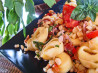 Summer Garden Tortellini. Recipe by Bev