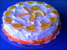 Orange Creamsicle Cake (From Scratch). Recipe by WI Cheesehead