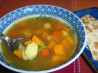 Cauliflower & Sweet Potato Curry Soup. Recipe by kelly in TO