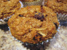 Healthy Raisin Coconut Muffins. Recipe by Chef #435649