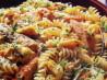 Grilled Chicken Pasta Salad With Artichoke Hearts. Recipe by Bakabeth