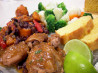 Slow Cooker Latin Chicken W/ Sweet Potatoes and Black Beans. Recipe by Chef Romie