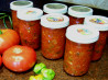 Canned the Summer in a  Salsa !. Recipe by Rita~
