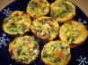 Claudia's Low Fat Spinach & Bacon Quiche Muffins