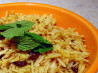 Middle Eastern Raisin Rice. Recipe by Sahtein