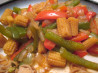 Chinese Baby Corn and Peppers. Recipe by yogiclarebear