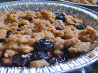 Individual Blueberry or Apple Crisp. Recipe by KLHquilts