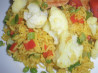 Curried Rice With Cauliflower and Peas. Recipe by Cookin-jo