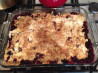 Berry Dump Cake. Recipe by Adam K.