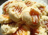 White Chocolate Apricot Thumbprint Cookies. Recipe by Tabby Bartley