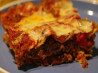 Mexican Lasagna. Recipe by ratherbeswimmin'