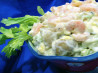 Shrimp and Potato Salad. Recipe by ratherbeswimmin'