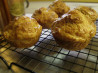 Auberge Cheddar Cheese and Ham Breakfast Buns - Muffins