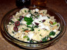 Pasta With Spinach, Feta and Olives. Recipe by Kathy228