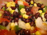 Southwest Salad with Cilantro Dressing. Recipe by Miss Annie