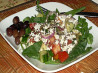 Kittencal's Greek Garden Salad With Greek-Style Dressing. Recipe by Kittencalskitchen