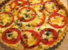 Cheese, Herb & Tomato Tart. Recipe by Chicagoland Chef du Jour