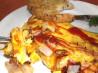 South Beach Diet Cheesy Ham Omelet. Recipe by Celeste :)