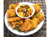 Indian Restaurant Style Onion Bhaji - Deep Fried Onion Fritters. Recipe by French Tart