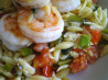 Garlic Shrimp and Orzo Salad. Recipe by Vseward (Chef~V)