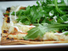 Crispy Crab Pizza With Rocket Salad Topping. Recipe by Aus/NZ Hosts