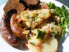 Warm German Potato Salad. Recipe by lazyme