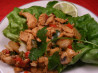 Turkey Lettuce Wraps. Recipe by Maito