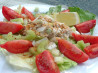 Trio of T's Salad  (Tuna, Tomato and Tarragon). Recipe by FLUFFSTER