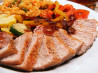 Spice-Rubbed Pork With Bell Pepper Compote. Recipe by jkoch960