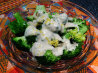 Broccoli With Indian-Spiced Yogurt. Recipe by Chef Wes