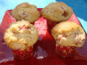 Old Fashioned Rhubarb Muffins. Recipe by ILuvRecipes