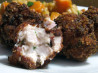 Deep-Fried Bacon, Chicken and Cheese Balls. Recipe by Gordon Ramsey fan