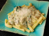 Spinach and Mushroom Alfredo Sauce. Recipe by MARIA MAC *