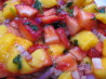Calypso Strawberry-Mango Salsa. Recipe by Dancer^