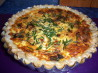 Sweet Potato and Salmon Quiche. Recipe by **Mandy**