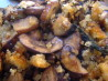 Garlic Button Mushrooms With Breadcrumbs