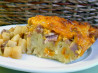 Ham and Cheese Bread Pudding. Recipe by Sarah_Jayne