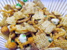 Asian Firecracker Chex Party Mix. Recipe by K in LA