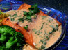 In a Heartbeat Atlantic Salmon With Red Curry Coconut Sauce. Recipe by I Cook Therefore I Am