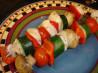 Herb Chicken Vegetable Kabobs. Recipe by diner524