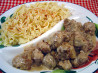 Swedish Meatballs. Recipe by Sue Lau